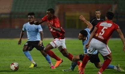 الأهلي يفوز على الداخلية بثنائية نظيفة في كأس مصر