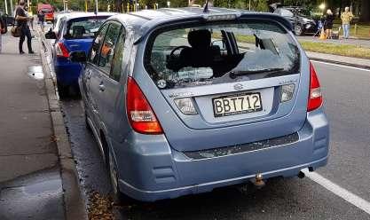 موقع الهجوم على مسجد في نيوزيلندا