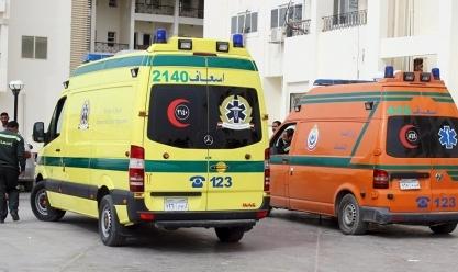 إصابة 11 عاملة في انقلاب «تروسيكل» ببني سويف