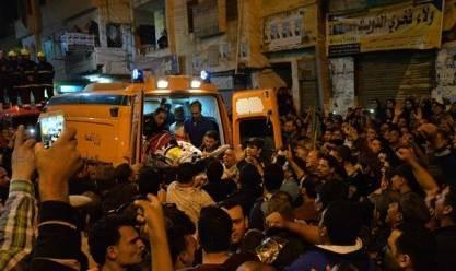 """جنازة النقيب أشرف جاد """"شهيد سيناء"""" في مسقط رأسه بقرية البرامون بالدقهلية"""