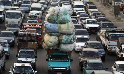 """المرور: شبورة غير مؤثرة على الطرق.. وكثافات عالية بـ""""كوبري أكتوبر"""""""