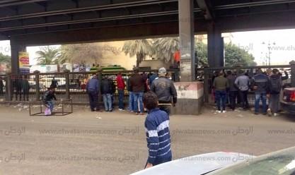 إبطال مفعول قنبلة في محيط مسجد الاستقامة بميدان الجيزة