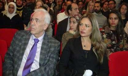 ليليى علوي تشارك في افتتاح المهرجان الدولي لأفلام الهجرة العالمية بالمركز الثقافي اليوناني