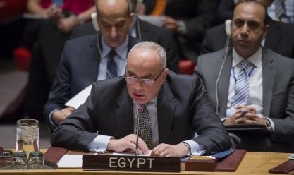 سفير مصر بالأمم المتحدة: سنشارك في نقاش أوضاع فلسطين وسوريا وليبيا
