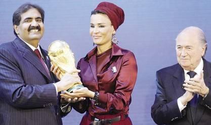 عاجل| وسائل إعلام ألمانية: قطر مهددة بسحب تنظيم كأس العالم