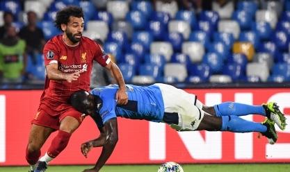 لقطات من مباراة ليفربول ونابولي في دوري أبطال أوروبا