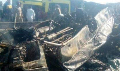 """ضبط السائق الهارب المتسبب في حادث """"أتوبيس الإسكندرية"""""""