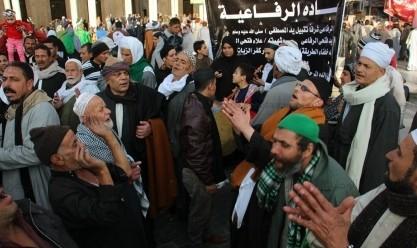 """احتفالات الطرق الصوفية بمولد """"الرجبي"""" في رحاب السيد البدوي بطنطا"""