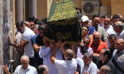 بالصور| جنازة «سيف العماري» عضو مجلس إدارة الزمالك السابق