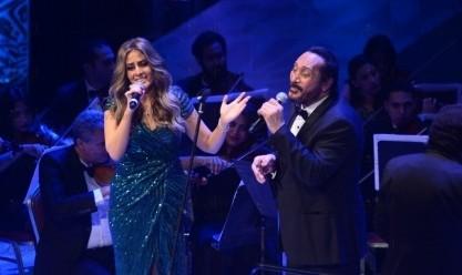 علي الحجار يبدع في الليلة السابعة من فعاليات مهرجان الموسيقى العربية
