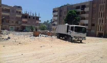رفع 50 طن مخلفات صلبة وقمامة بجهينة في سوهاج