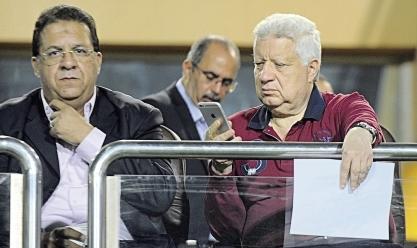 مرتضي منصور يهدد بعدم خوض باقي مباريات الدورى بسبب الأهلي
