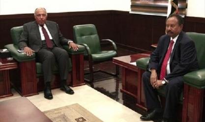 زيارة وزير الخارجية سامح شكرى للسودان