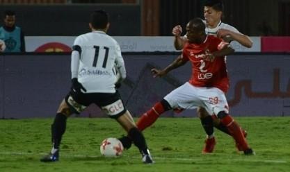 لقطات من مباراة الأهلي وحرس الحدود في الدوري