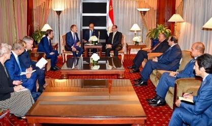 توسك ومستشار النمسا: مصر نموذج ناجح في مكافحة الهجرة غير الشرعية