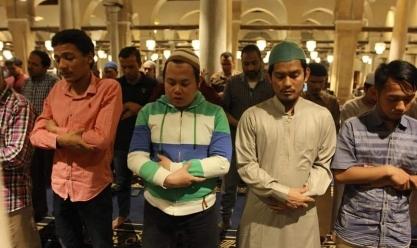 صلاة التراويح في الجامع الأزهر