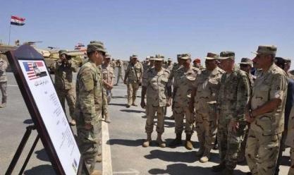 قاعدة محمد نجيب العسكرية تستضيف مناورات النجم الساطع 2018