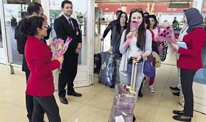 ارتفاع نسبة الإشغال السياحي بمدينة دهب إلى 21%