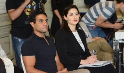 حفل تنصيب آسر ياسين ونيللي كريم سفراء للنوايا الحسنة
