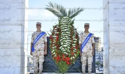 بأكاليل الزهور.. المحافظات تحتفل بذكرى نصر أكتوبر