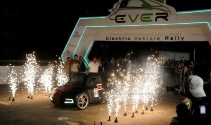 رالي القاهرة الأول للسيارات الكهربائية محلية الصنع