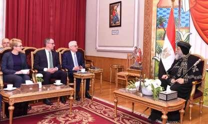 البابا يستقبل وزير خارجية بولندا
