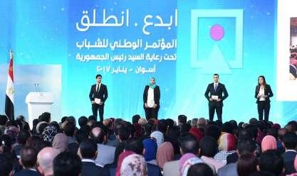 بالفيديو.. العالم يشيد بمؤتمرات الشباب في مصر