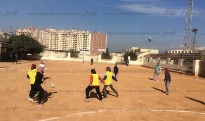 بالصور| افتتاح فعاليات الدورة الرياضية لكرة القدم النسائية بطنطا