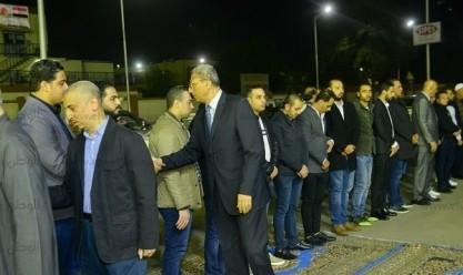 عزاء النائب محمد بدوي دسوقي بمسجد بدوي في البحر الأعظم
