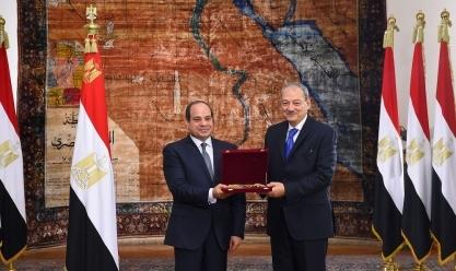 السيسي يشهد أداء حلف اليمين لرئيس مجلس الدولة والنائب العام