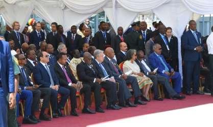 القمة الـ 32 للاتحاد الإفريقي بمشاركة السيسي
