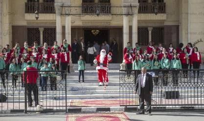 استقبال عيد الميلاد بالكاتدرائية بالعباسية