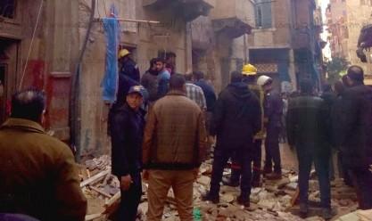 ارتفاع عدد ضحايا عقار كرموز لـ3 أشخاص وإصابة آخر في الإسكندرية