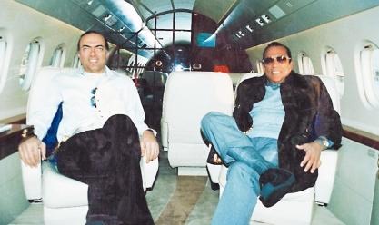 لقطات من حياة رجل الأعمال الراحل حسين سالم