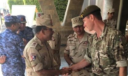 """المملكة المتحدة تشارك في التدريب العسكري متعدد الجنسيات """"النجم الساطع"""""""