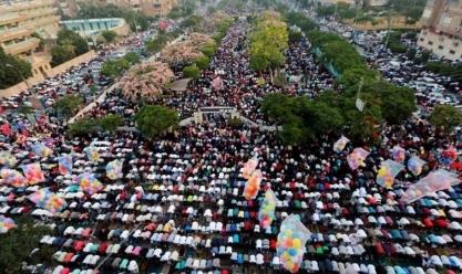 موعد صلاة عيد الأضحى في القاهرة والمحافظات