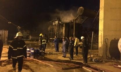 مصرع شخص وإصابة 4 في حريق محطة وقود بالشرقية
