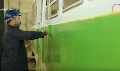 بالفيديو| بمعايير عالمية.. الترام يعود إلى شوارع الإسكندرية