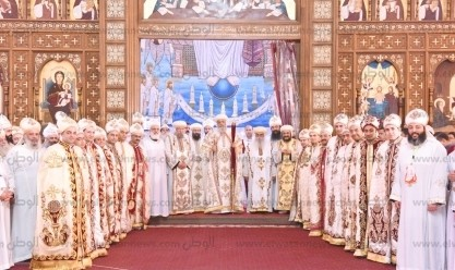 البابا تواضروس يسيّم 15 كاهنا جديدا للخدمة في كنائس الإسكندرية