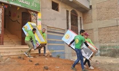 فريق «بسمة للإيواء» يطلق مبادرة «ثلاجة الخير» بالشرقية