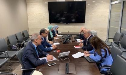وزير القوى العاملة يبحث مشكلات العمالة المصرية في لبنان