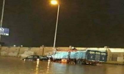 """""""الأرصاد"""": سيول شديدة على وسط وجنوب سيناء اليوم"""