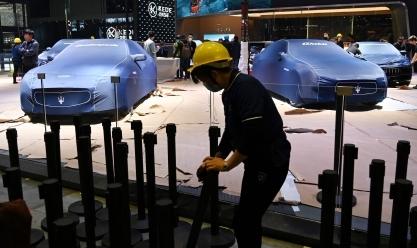 """افتتاح معرض """"شنجهاي"""" الصيني للسيارات"""