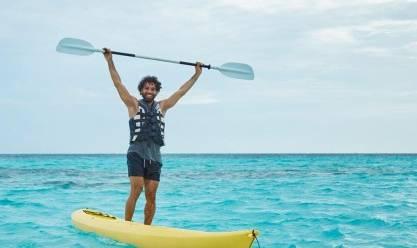 """محمد صلاح ينشر صورة جديدة له على البحر.. ومتابعون: """"ربنا يحميك"""""""