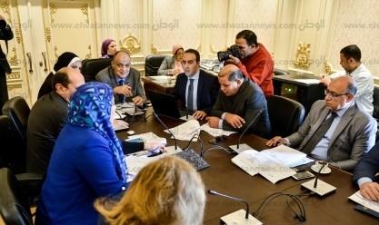 اجتماع لجنة المشروعات بمجلس النواب