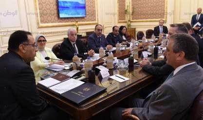 لقاء رئيس الوزراء مع مسؤولي شركة فاميد النمساوية
