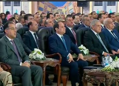 """السيسي لـ""""وزير الصحة"""": مستعد أديك دعم قوي من """"تحيا مصر"""" لـ""""فيروس C"""""""