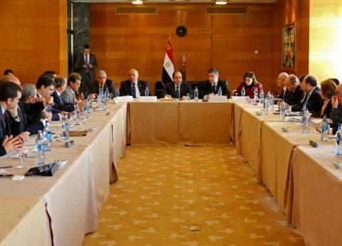 رجال أعمال برتغاليون: سنجعل مصر مركزاً لنشاطنا والرئيس: علينا العمل لزيادة التبادل التجارى