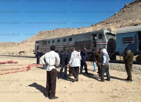 """رئيس """"الجنوبية للسكة الحديد"""": السيطرة على حريق محدود بقطار في أسوان"""