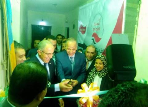 محافظ القليوبية والسويدييفتتحان مقرا جديدا لائتلاف دعم مصر